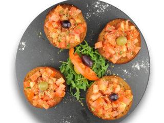 Bruschette tomato delivery