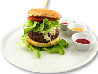 Steak burger 250g delivery