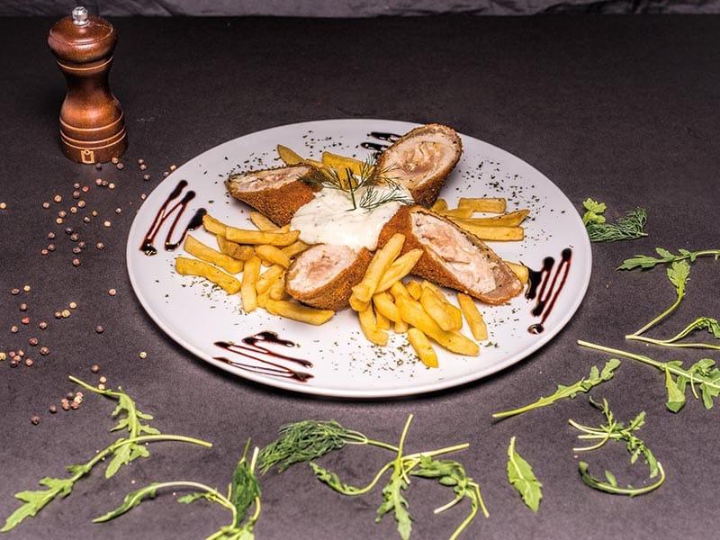 Karadjordjeva chicken steak delivery