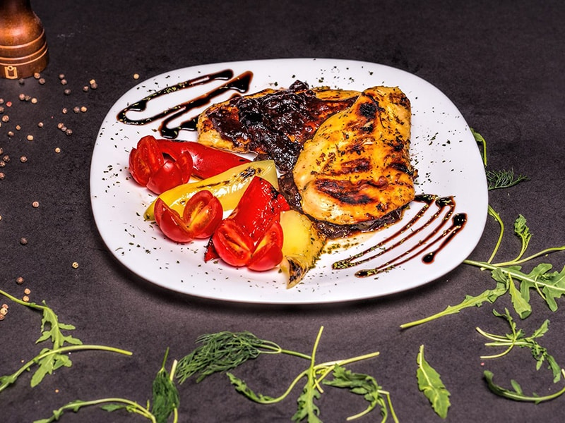 Chicken in prunes sauce delivery