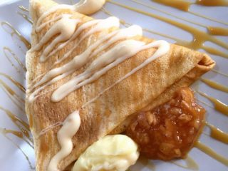 Crepe apple pie delivery