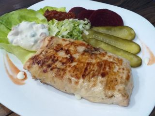Stuffed chicken fillet Gurman roštilj iz Leskovac delivery