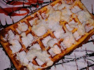 Raffaello waffle delivery