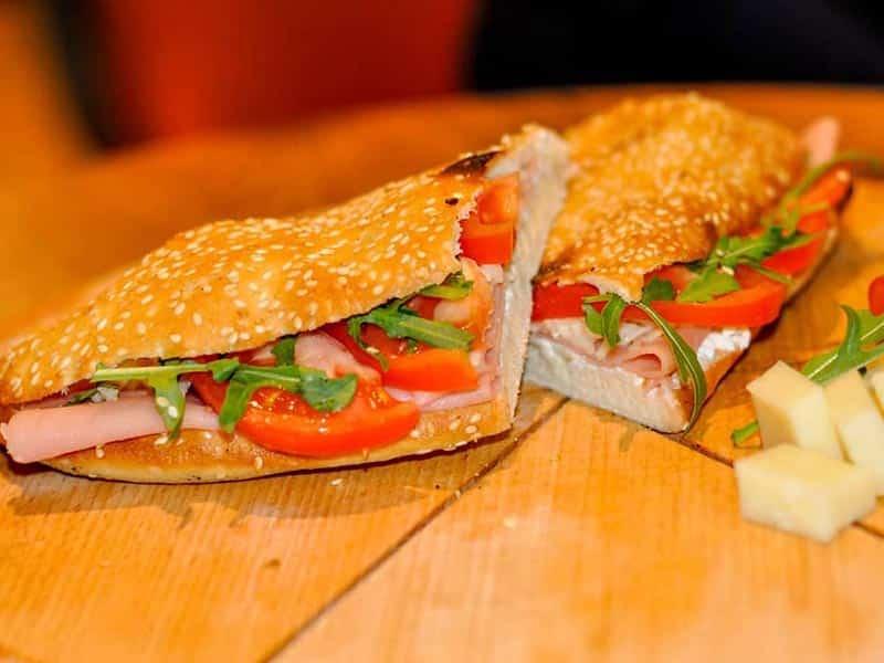Šunka sendvič dostava