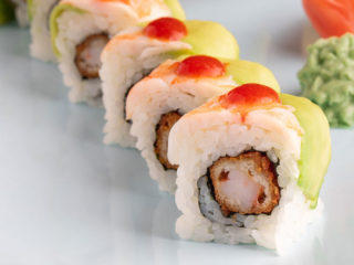 Spicy shrimp roll Ima Sushi dostava