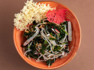 Wakame seaweed salad delivery