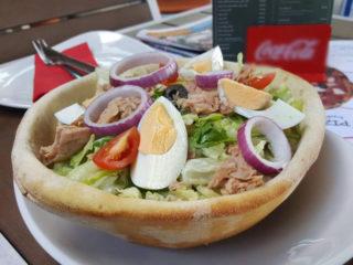 Caesar salad Helga's Pub Novi Beograd delivery