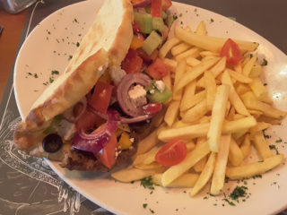 Greek burger dostava