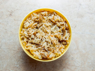 Risotto with mushrooms and ginger delivery