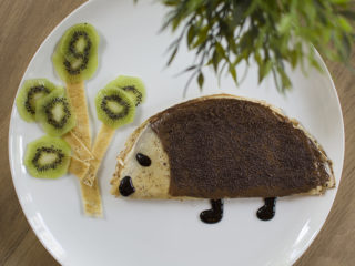 Boza hedgehog with nutella and plazma delivery