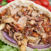 Big chicken gyros