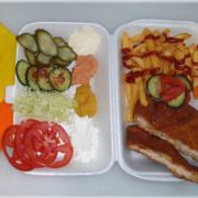 Viennese chicken steak