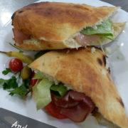 Andrea Mia sandwich