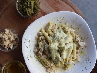 Chicken pesto penne delivery