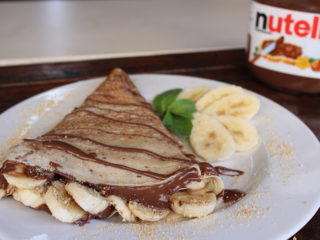 Pancake nutella delivery