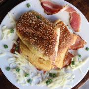 Omelett prosciutto
