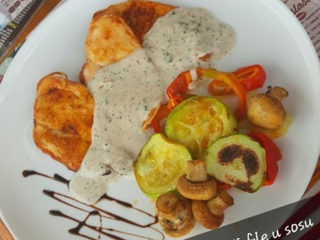 Chicken fillet in 3 type of pepper sauce dostava