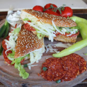 Sandwich with kulen