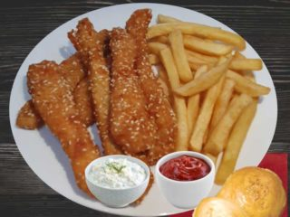 Spanish fingers with french fries dostava