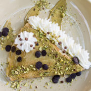 Pancake pistachios