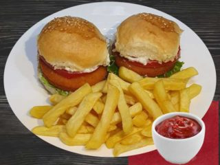Fishburgers with french fries dostava