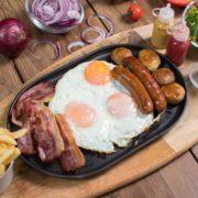 Lav Gastro and Bar breakfast