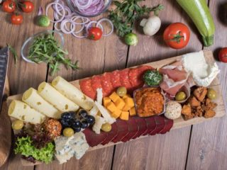 Meze Plate Lav Gastro Bar delivery
