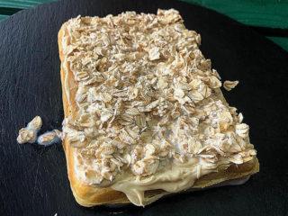 Ovsene pahuljice u mleku waffle dostava