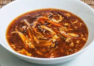 5. Hot n sour soup with vegetables delivery