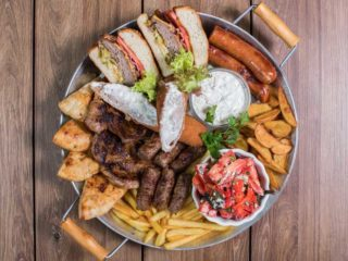 BBQ Plate Lav Gastro Bar delivery