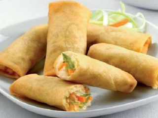 1. Spring rolls delivery