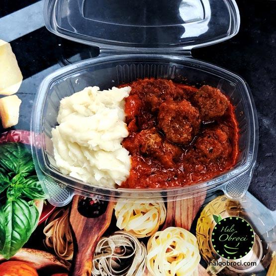 Ćufte u sosu – obrok dostava