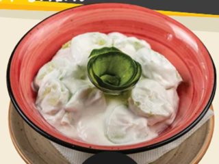 Cucumber in sour cream delivery