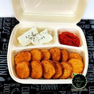 Mini prženice sa sirom i ajvarom Halo Obroci dostava