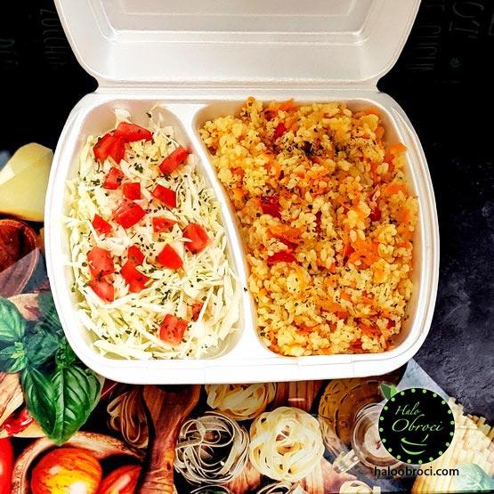 Posni rižoto sa povrćem – obrok dostava