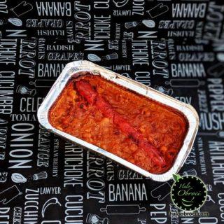 Prebranac sa kobasicom – obrok Halo Obroci dostava