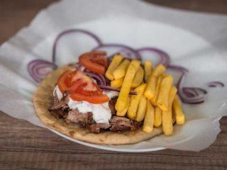 Pork gyros Grčki giros delivery