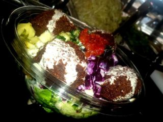 Health falafel delivery