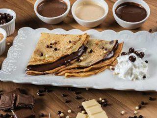 Pancake Nutella plasma Rustico restoran delivery