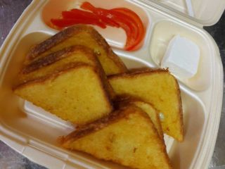 Krabs french toast delivery