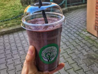 Flax berry smoothie Green Vibes dostava