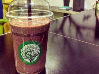 Peanut berry smoothie Green Vibes dostava