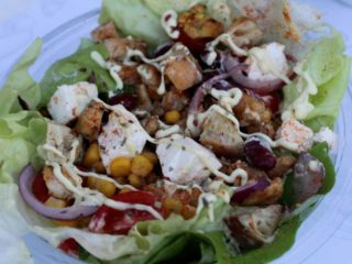Mexicana salad Kobas Bar delivery