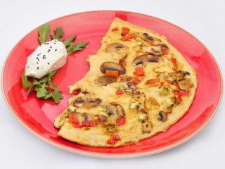 Fit omlet sa povrćem dostava