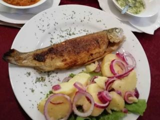 Grilled trout delivery