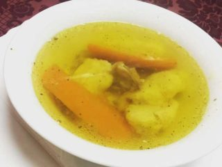 Chicken soup Dedina Tajna delivery