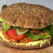Protein burger