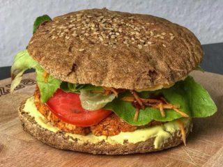 Protein burger Green Vibes dostava