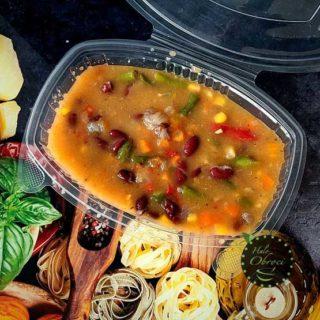 Meksički paprikaš posni – obrok Halo Obroci dostava