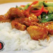 17. Piletina sa nudlama u soja sosu